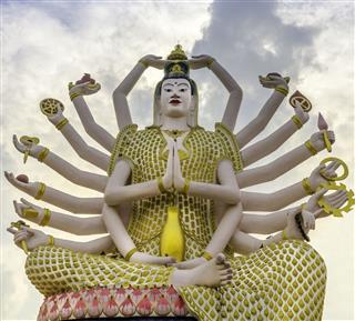 Big Guan Yin Buddha Statue