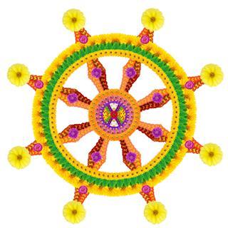 Dharma Wheel Of Spirituality