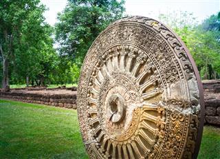 Ancient Dharma Wheel