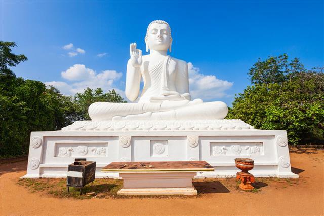 Mihintale Buddha Statue Srilanka