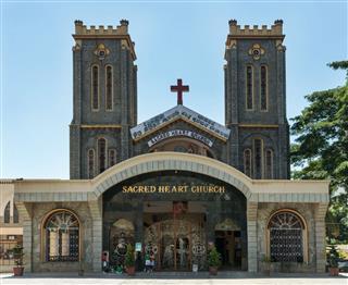 Sacred Heart Church In Bangalore