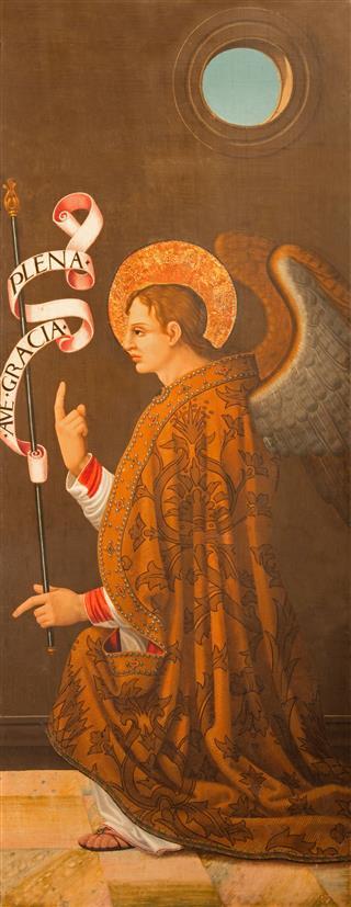Avila Archangel Gabriel Panting
