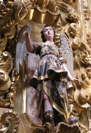 Saint Michael Statue Mexico