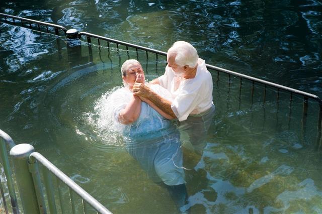 Baptized In Jordan River