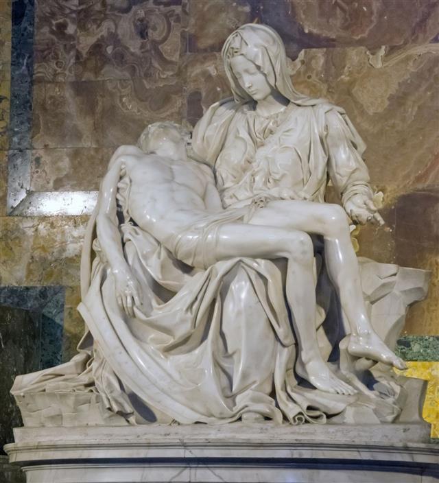 Basilica San Pietro Pieta By Michelangelo
