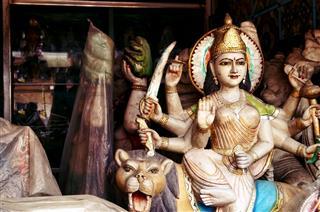 Deity Of Goddess Durga