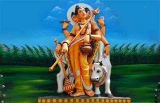 God Vishu In Various Avatars