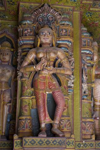 Statue In Bhandasar Jain Temple Bikaner