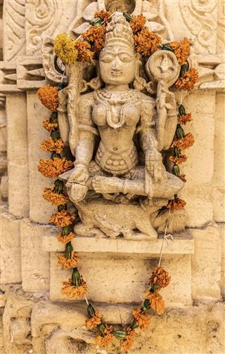 Jain Temples Jaisalmer Rajasthan India
