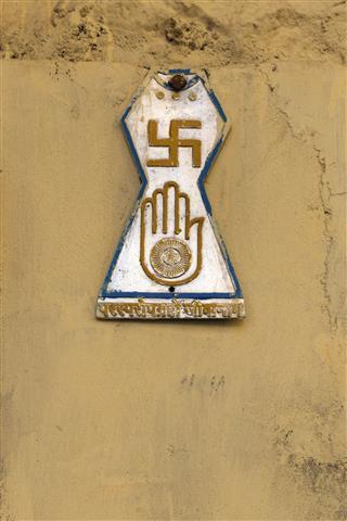 Religious Symbols In Jodhpur India