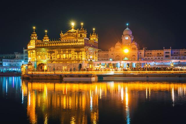 Sikh Golden Temple Amritsar India