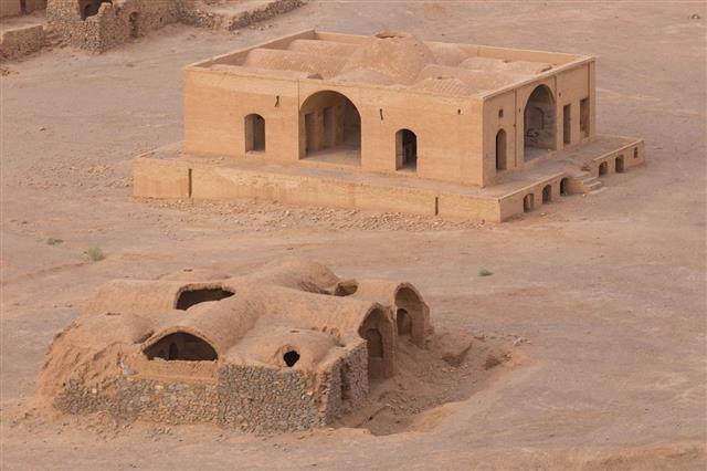 Zoroastrian Temples Of Yazd In Iran