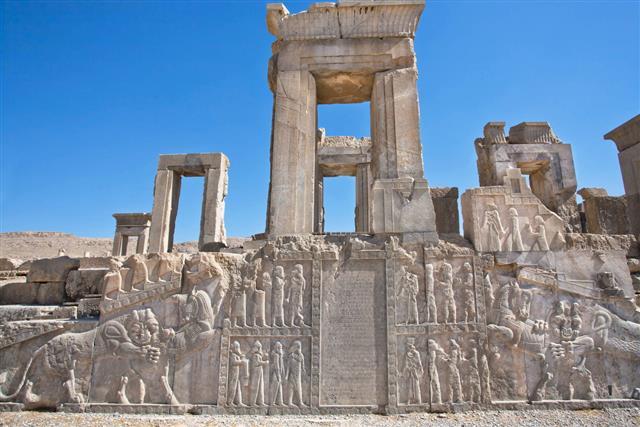 Symbols Of Zoroastrians Persepolis