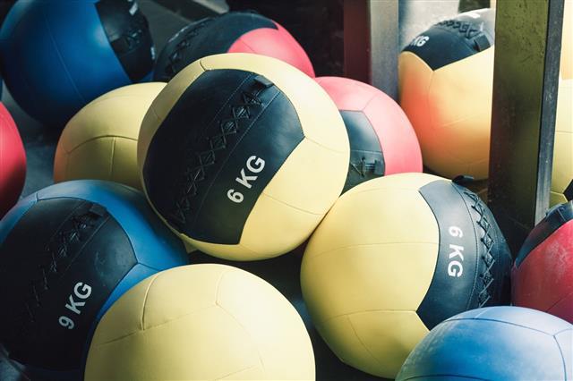 Medicine Balls In Gym