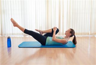 Pilates Exercising