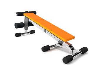 Orange Multifunctional Bench Reverse