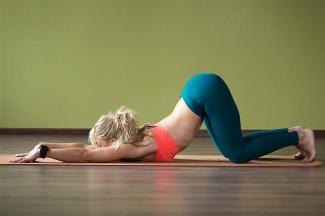 Ashtanga Namaskarasana Yoga Pose