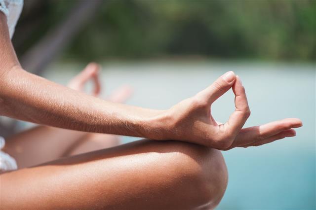 Lotus Yoga Position