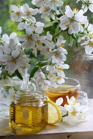 Jasmine Tea With Honey