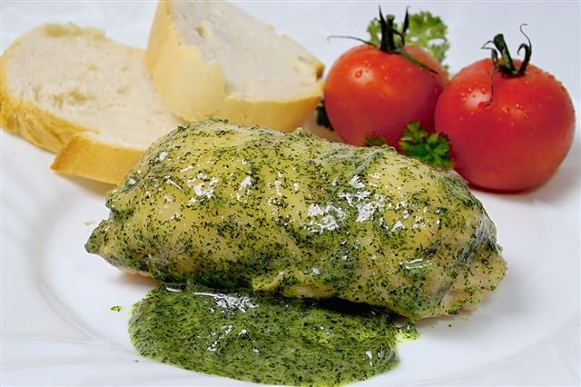 Turkey Roll Herbage Style