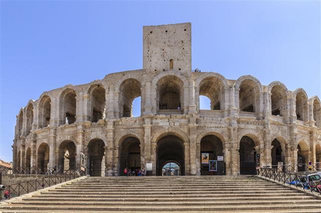 Roman Amphitheatre Of Arles