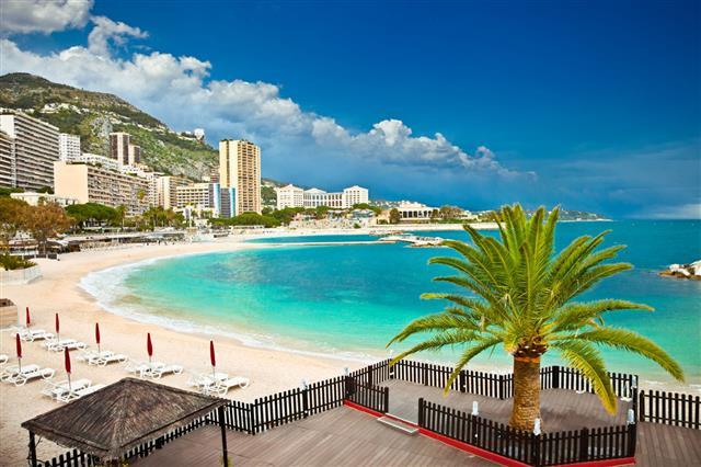 Monte Carlo Beaches Monaco