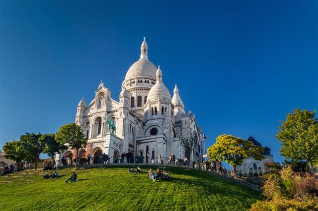 Basilique Du Sacre Coeur Montmartre Paris