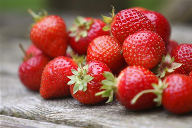 Tumble Of Strawberries