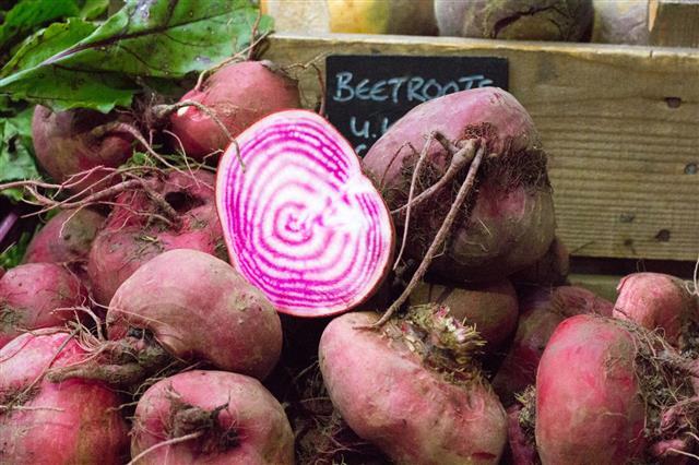 Beetroot In Borough Market London