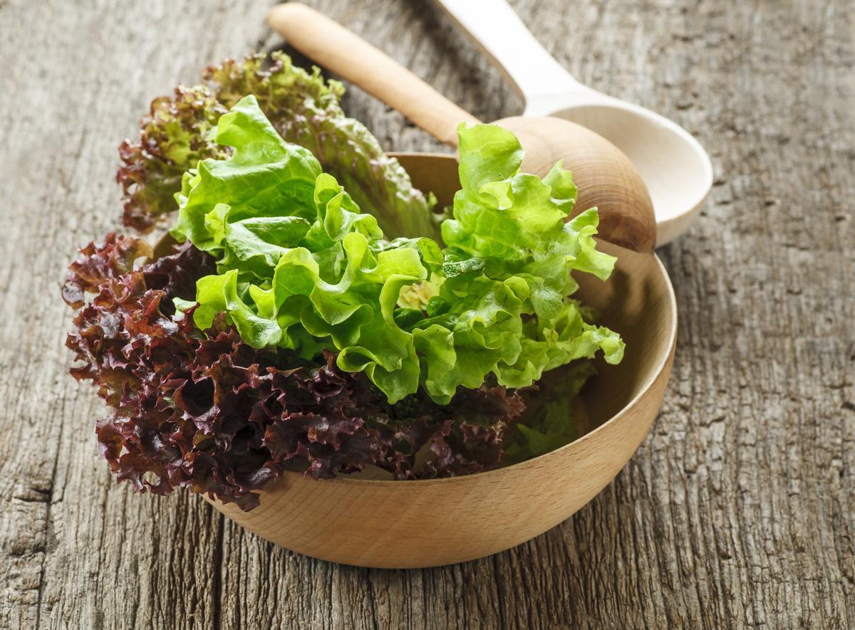 potassium foods rich lettuce fruits vegetables fresh