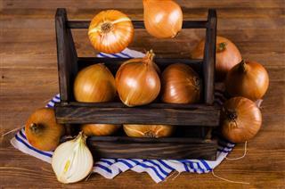 Fresh bulb onions