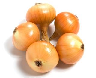 Onions arrangement