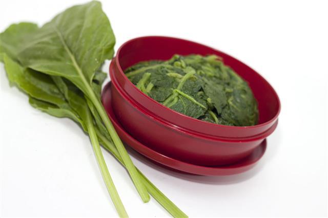 Stewed Spinach