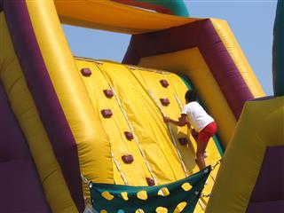 Child Climbing Up