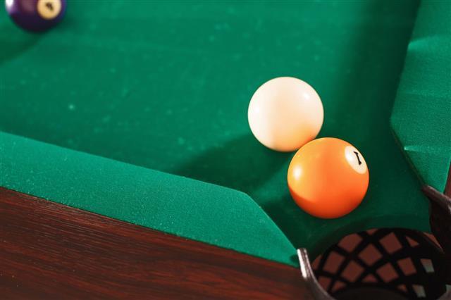 Two Billiard Balls
