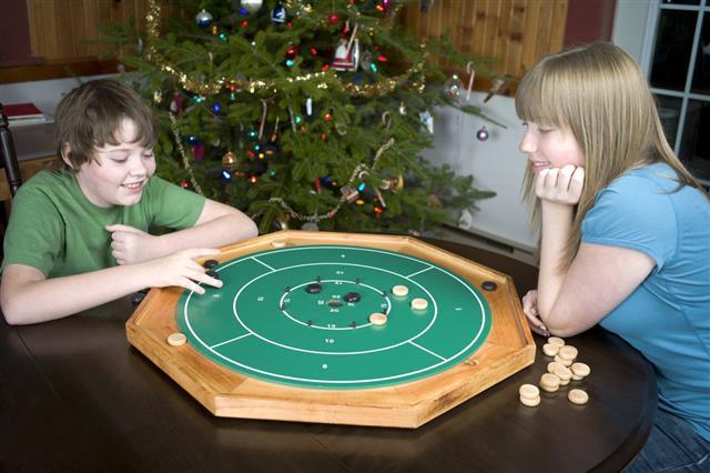 Teenagers Playing Board Game