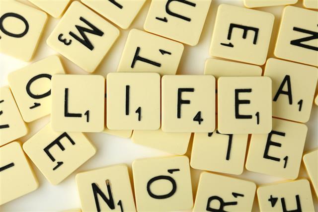 Life Scrabble Words
