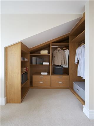 Loft Apartment Wardrobe