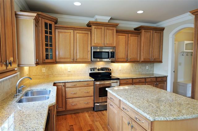 Clean Kitchen In Home