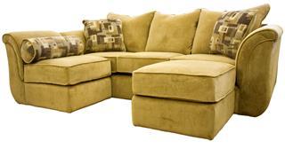 Dark Beige Sectional Sofa