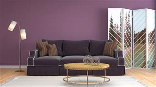 Modern Interior With Beautiful Sofa