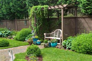 Garden Alcove