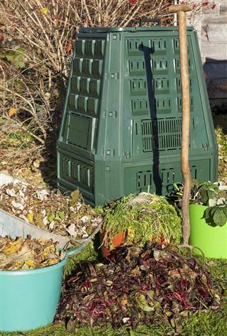 Composting for garden