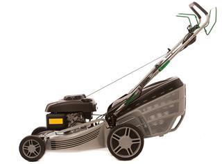Silver Lawn Mower