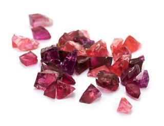 Purple And Red Tourmaline Gemstones