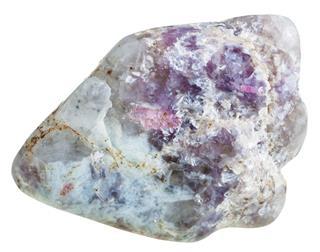 Tourmaline Crystals On Quartz