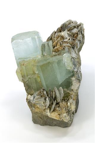 Aquamarine Topaz Crystals