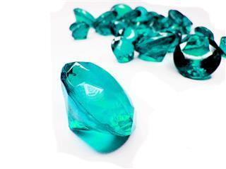 Aquamarine Gem Stones Crystals