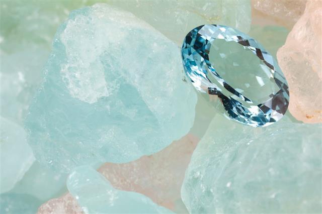 Aquamarine Gems