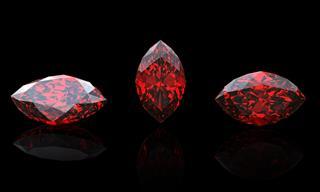 Garnet Marquis Jewelry Gems